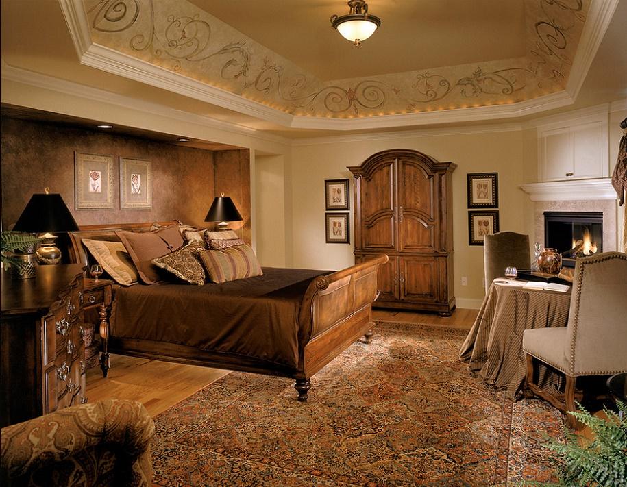 Dormitor clasic somptuos