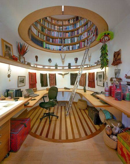 Poze Birou si biblioteca - Birou si biblioteca etajate