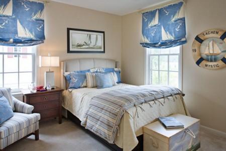 Poze Dormitor - Decor nautic in dormitor