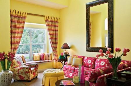 Poze Living - Living in culori tonice, tineresti