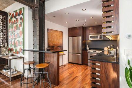 Poze Bucatarie - Bucataria unui apartament modern