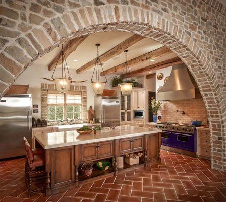 Poze Bucatarie - Farmecul si caldura stilului mediteranean in bucatarie