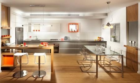 Poze Bucatarie - Idee de amenajare pentru o bucatarie moderna