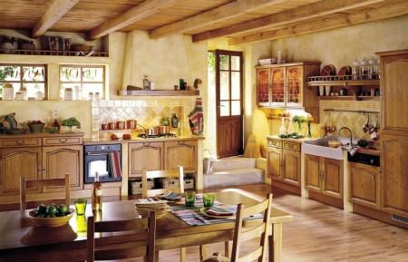 Poze Bucatarie - Inspira-te din stilul traditional francez!