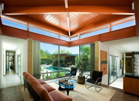 Poze Living - Living modern, cu suprafete vitrate ample
