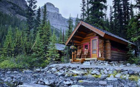 Poze Case lemn - Casa de vacanta montana