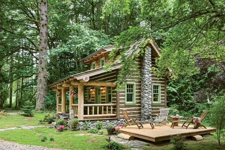 Poze Case lemn - cabana-lemn-rotund-exterior-2.jpg