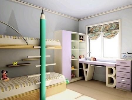 Poze Copii si tineret - Tematica office pentru decorarea camerei copilului