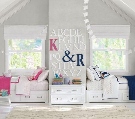Poze Copii si tineret - Cum sa decorezi camera copiilor atunci cand ai o fetita si un baietel