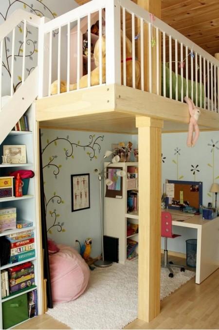 Poze Copii si tineret - Etajare in camera copiilor