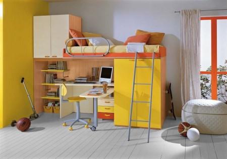 Poze Copii si tineret - Mobilier compact, modern pentru camera copilului
