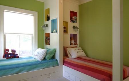 Poze Copii si tineret - Partajarea si personalizarea unei camere pentru o fetita si un baietel