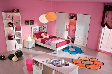 Poze Copii si tineret - Decor modern pentru camera unei fetite