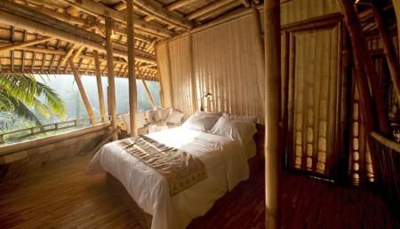 Poze Dormitor - Dormitor casa din bambus, Satul Verde, Bali