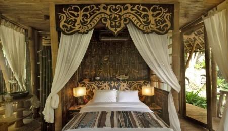 Poze Dormitor - Imagine dormitor din bambus