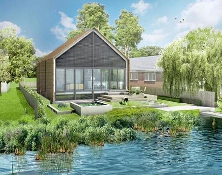 Poze Haioase - Casa care se transforma in barca