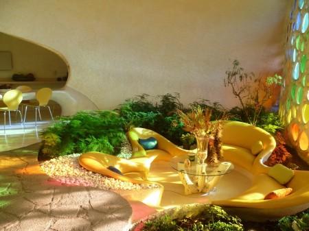 Poze Living - Arhitectura organica, reproducerea naturii in casele noastre