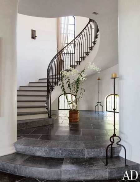 Poze Scari - Scara interioara a casei supermodelului Gisele Bundchen