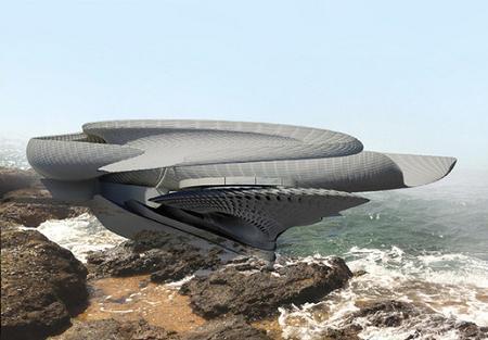 Poze Haioase - Casa hidroenergetica, o locuinta futurista