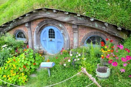 Poze Crama si pivnita - Ce ziceti de o pivnita in genul caselor hobbitilor?