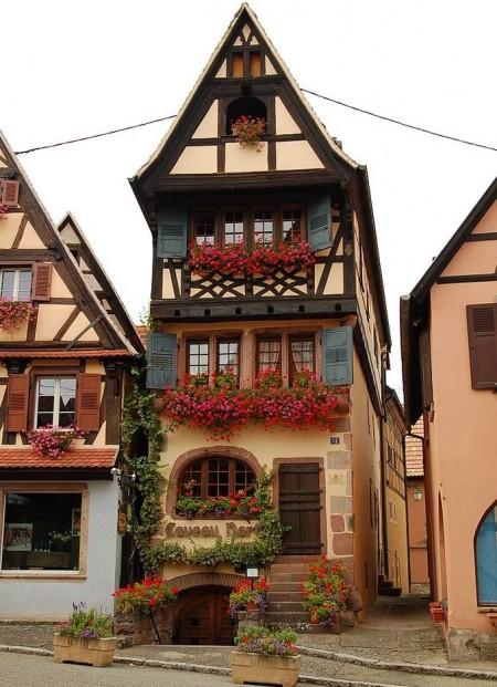 Poze Fatade - O superba casa alsaciana