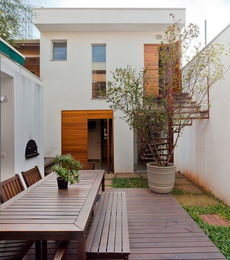 Poze Terasa - Terasa casa moderna