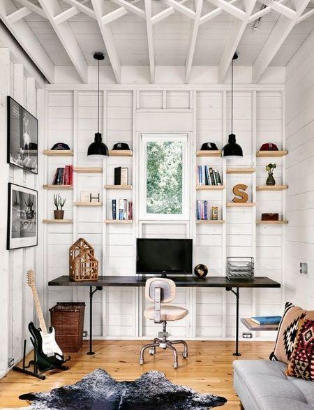 Poze Birou si biblioteca - Design modern pentru biroul de acasa