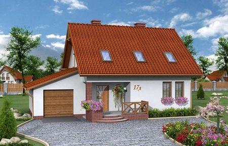 Poze Fatade - Casa mica, practica si ieftina cu garaj si 3 dormitoare