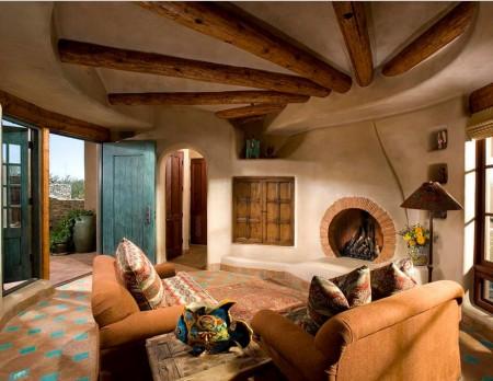 Poze Living - Un superb interior pentru iubitorii caselor naturale