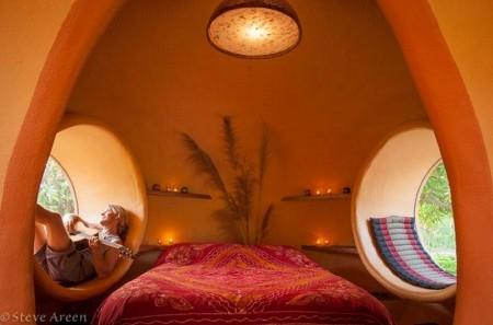Poze Dormitor - Romantism in dormitorul unei case cu totul neobisnuite