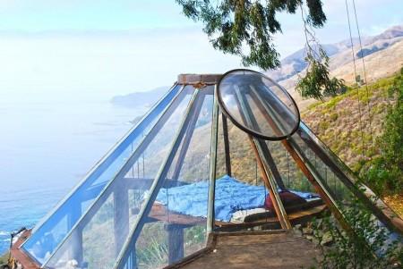 Poze Dormitor - Dormitor suspendat intr-o casa solara semi-ingropata