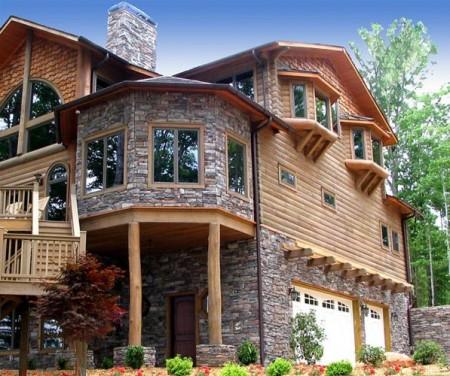 Poze Case lemn - casa-piatra-lemn.jpg