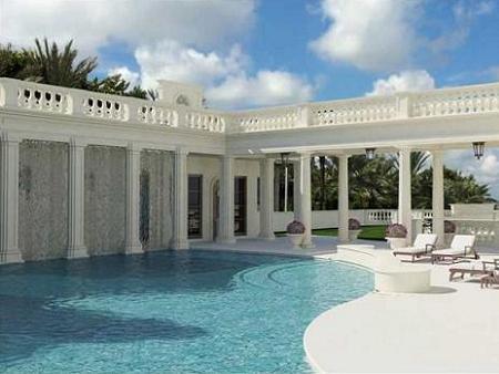 Poze Piscina - Piscina vilei Palatul Regal, Florida