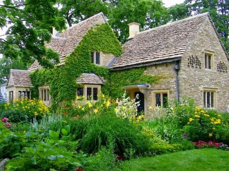 Poze Gradina de flori - Stilul cottage englezesc in toata splendoarea sa