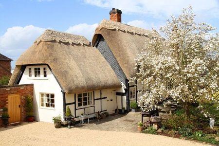 Poze Fatade - Primavara in curtea unei fermecatoare case rurale englezesti