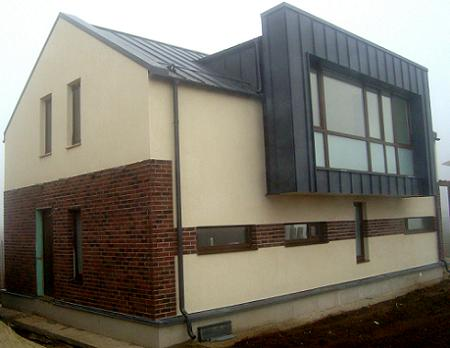 Poze Fatade - Casa pe structura metalica