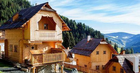 Poze Case lemn - Case construite integral din lemn