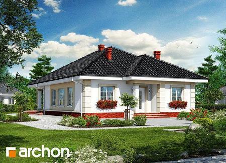 Poze Fatade - Casa cu trei dormitoare, doar parter, cu  podul care poate fi transformat in spatiu locuibil