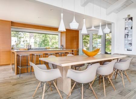 Poze Sufragerie - Zona de zi intr-o casa de vacanta moderna