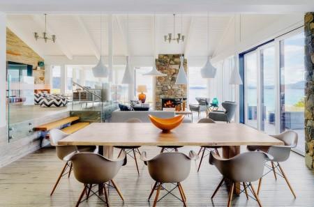 Poze Sufragerie - Sufragerie moderna intr-un spatiu deschis
