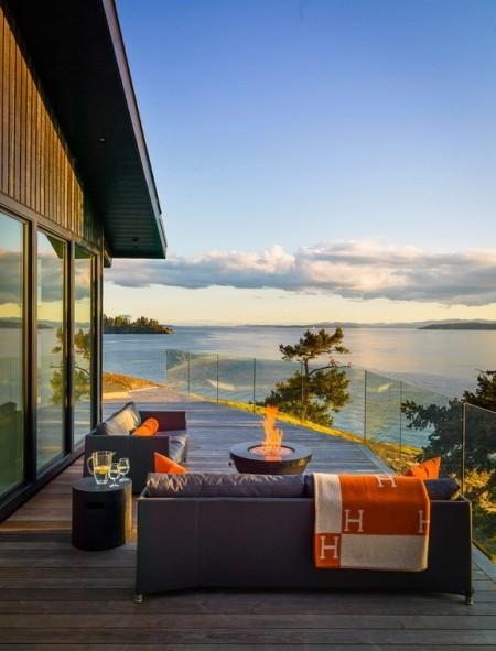 Poze Terasa - Un loc perfect pentru a admira in tihna asfintitul deasupra oceanului