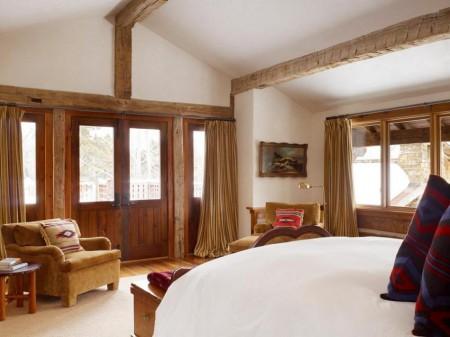 Poze Dormitor - Amenajare rustica a dormitorului