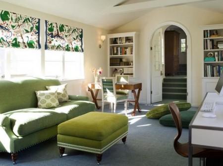 Poze Birou si biblioteca - Verdele, o culoare creativa