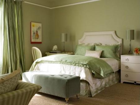 Poze Dormitor - Dormitor in culori proaspete, relaxante