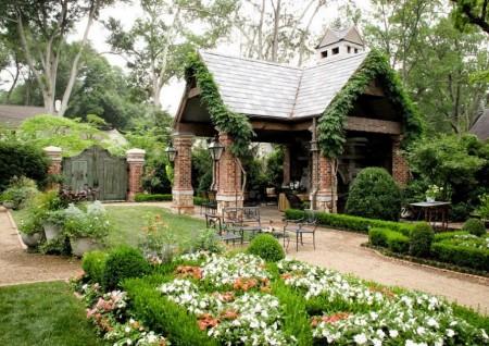 Poze Gradina de flori - Amenajare exterioara
