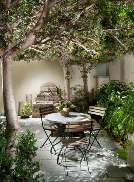 Poze Gradina de flori - Un coltisor pentru relaxare in gradina