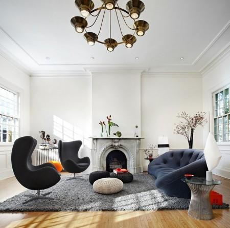 Poze Living - Confort si eleganta in livingul contemporan