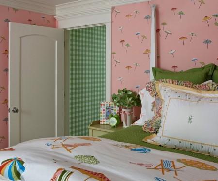 Poze Dormitor - Decor estival in dormitor