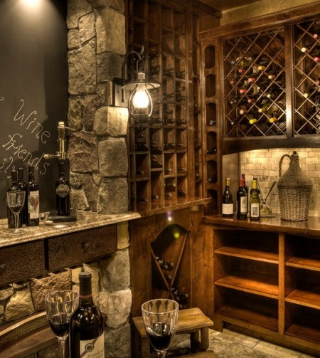 Poze Crama si pivnita - Pivnita pentru vin si prieteni