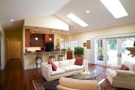 Poze Living - Imagine amenajare living Creswell Residence, Paul Moon Design